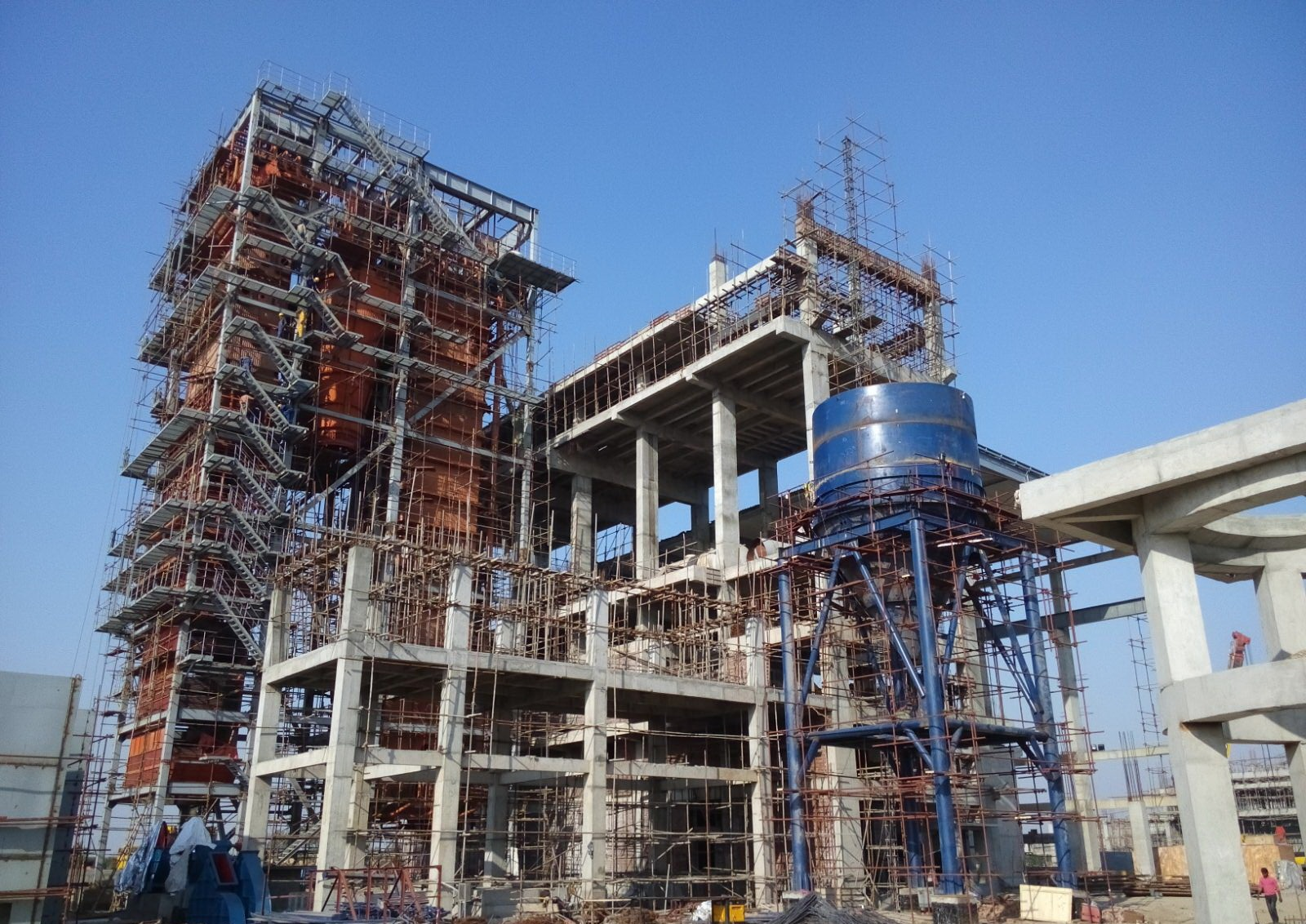 Construction Of 35 Mw Coal Fired Power Plant At Sitara